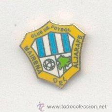 Coleccionismo deportivo: PIN DE FÚTBOL. ANDALUCÍA. MAIRENA DEL ALJARAFE CF (MAIRENA DEL ALJARAFE, SEVILLA). ESMALTADO OFICIAL. Lote 52871270