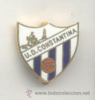 PIN - INSIGNIA DE FÚTBOL. ANDALUCÍA. UD CONSTANTINA (CONSTANTINA, SEVILLA). ESMALTADO. AGUJA (Coleccionismo Deportivo - Pins de Deportes - Fútbol)