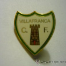 Coleccionismo deportivo: PIN VILAFRANCA CF. Lote 53630538