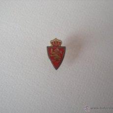 Coleccionismo deportivo: PIN ESCUDO DEL REAL ZARAGOZA. Lote 54318033