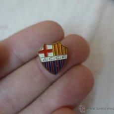 Coleccionismo deportivo: ANTIGUA INSIGNIA DEL ACCF ATLETIC CLUB CATALUNYA DE FUTBOL, BARCELONA ATLÈTIC. ORIGINAL. Lote 54784461