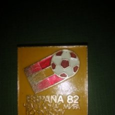 Coleccionismo deportivo: PIN BROCHE MUNDIAL DE FUTBOL ESPAÑA 82 DE LA UNIÓN SOVIÉTICA.. Lote 54860580