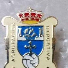 Coleccionismo deportivo: INSIGNIA AGUJA AGRUPACION DEPORTIVA RIBADEDEVA . ASTURIAS. Lote 54890998