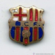 Coleccionismo deportivo: MINI PIN INSIGNIA F. C. BARCELONA - SIGLAS BCF - . Lote 54969150