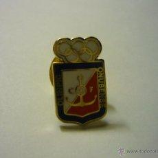 Coleccionismo deportivo: PIN FUTBOL OLIMPIC ONUBENSE. Lote 55000626