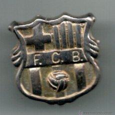 Coleccionismo deportivo: PIN INSIGNIA - FC BARCELONA DE PLATA -. Lote 55055803
