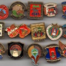 Coleccionismo deportivo: 15 PINS PEÑAS BARCELONISTAS. Lote 55869792
