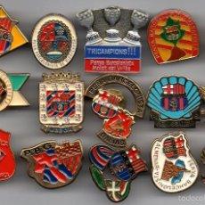 Coleccionismo deportivo: 15 PINS PEÑAS BARCELONISTAS. Lote 55869979