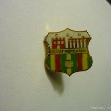 Coleccionismo deportivo: PIN FUTBOL FED.CATALANA CIUTAT MERIDIANA. Lote 56601097