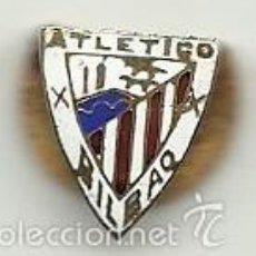 Coleccionismo deportivo: (P-242)INSIGNIA DE OJAL ESMALTADA ATLETICO DE BILBAO. Lote 56879686