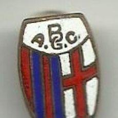 Coleccionismo deportivo: (P-263)INSIGNIA DE SOLAPA ESMALTADA A.G.C.BOLONIA. Lote 56879720