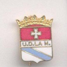 Coleccionismo deportivo: PIN - INSIGNIA DE FÚTBOL. VIZCAYA. UD LA MERCED (BILBAO). ESMALTADO. DE AGUJA. Lote 57049055