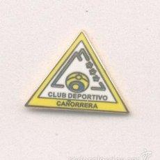 Coleccionismo deportivo: PIN - INSIGNIA DE FÚTBOL. CÁDIZ. CD CAÑORRERA (SAN FERNANDO). ESMALTADO. Lote 57111599