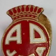 Coleccionismo deportivo: ANTIGUA Y BONITA INSIGNIA DE OJAL DE A D JACA . HUESCA .. Lote 57147969
