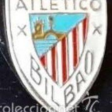 Coleccionismo deportivo: PIN ATHLETIC BILBAO EN PLATA DE LEY Y ESMALTE - 15MM.. Lote 147311088