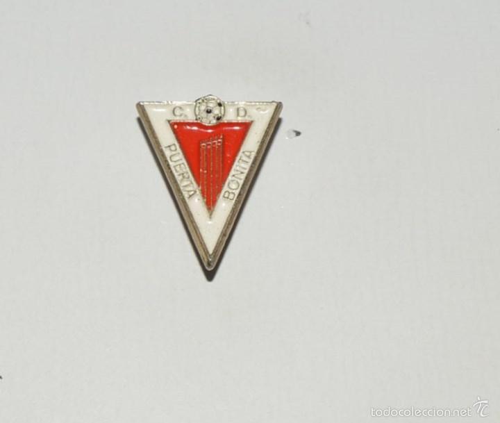 7cc42ae0161 2 fotos PIN FUTBOL CLUB DEPORTIVO PUERTA BONITA (Coleccionismo Deportivo -  Pins de Deportes - Fútbol) ...