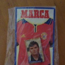 Coleccionismo deportivo: PINS CAMACHO EUROCOPA 2000. Lote 58190060