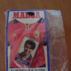 Coleccionismo deportivo: PINS VALERON EUROCOPA 2000. Lote 58190087