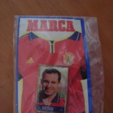 Coleccionismo deportivo: PINS SERGI EUROCOPA 2000. Lote 58190216