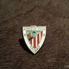 Coleccionismo deportivo: PIN ESCUDO EQUIPO FUTBOL ATHLETIC CLUB BILBAO (INSIGNIA FEDERACIÓN VIZCAYA FUTBOL ESPAÑA). Lote 60460635