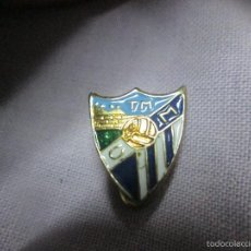Coleccionismo deportivo: PIN TIPO INSIGNIA TIPO SOLAPA MALAGA. Lote 60669723