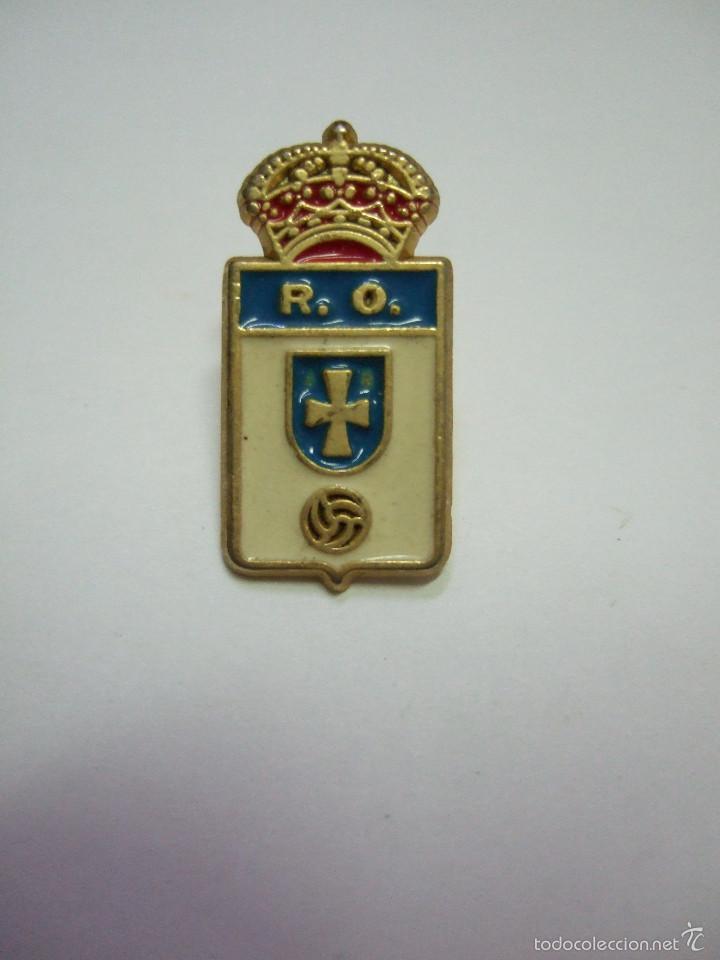 PIN FUTBOL - REAL OVIEDO (Coleccionismo Deportivo - Pins de Deportes - Fútbol)