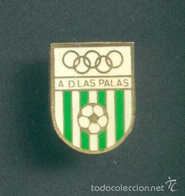 Pin - insignia de fútbol. murcia. ad las palas - Vendido en Venta ... dd00b234ee767