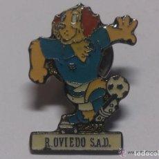 Coleccionismo deportivo: PIN GOLI R. OVIEDO S.A.D.. Lote 62355416