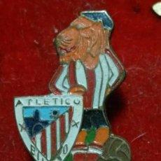 Coleccionismo deportivo: PIN INSIGNIA ALFILER JUGADOR ESCUDO DEL ATLETIC CLUB BILBAO .. Lote 63734439