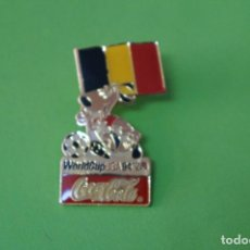 Coleccionismo deportivo: PIN DE FÚTBOL SELECCIÓN DE BELGICA MUNDIAL USA 94 DE COCA COLA LOTE 5. Lote 65852574
