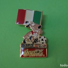 Coleccionismo deportivo: PIN DE FÚTBOL SELECCIÓN DE ITALIA MUNDIAL USA 94 DE COCA COLA LOTE 5. Lote 65854274