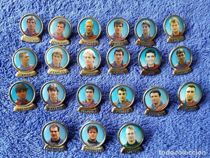 21 PINS JUGADORES DEL BARCELONA (Coleccionismo Deportivo - Pins de Deportes - Fútbol)