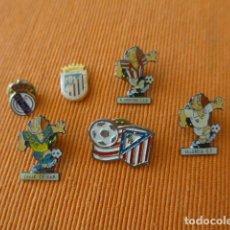 Coleccionismo deportivo: LOTE 6 PIN O INSIGNIA ANTIGUA DE FUTBOL. Lote 82782272