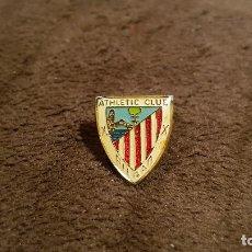 Coleccionismo deportivo: PIN ESCUDO EQUIPO FUTBOL ATHLETIC CLUB BILBAO (INSIGNIA FEDERACIÓN VIZCAYA FUTBOL ESPAÑA). Lote 84995980