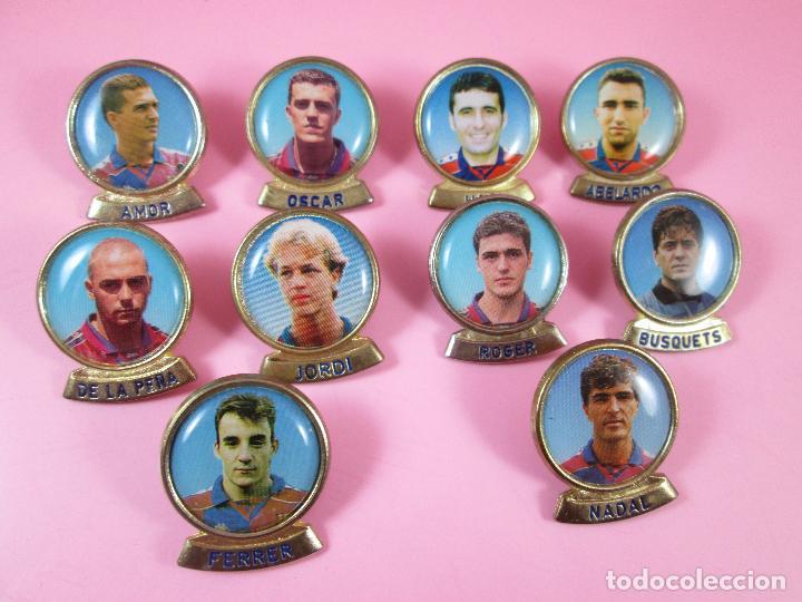 21-LOTE 10 PINS-F.C.BARCELONA-SPORTS-LINEVA-NOS-VER FOTOS (Coleccionismo Deportivo - Pins de Deportes - Fútbol)