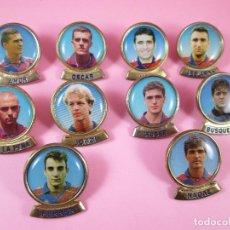 Coleccionismo deportivo: 21-LOTE 10 PINS-F.C.BARCELONA-SPORTS-LINEVA-NOS-VER FOTOS. Lote 87615528