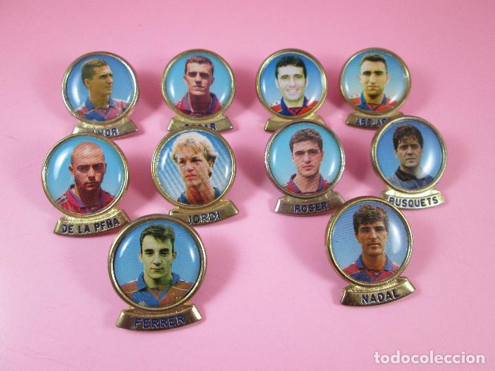 Coleccionismo deportivo: 21-lote 10 pins-f.c.barcelona-sports-lineva-NOS-ver fotos - Foto 2 - 87615528