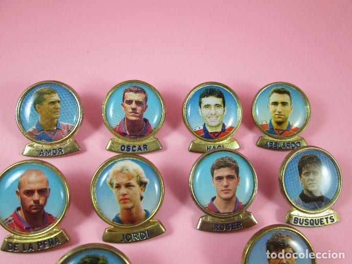 Coleccionismo deportivo: 21-lote 10 pins-f.c.barcelona-sports-lineva-NOS-ver fotos - Foto 4 - 87615528