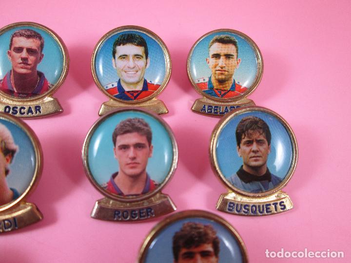 Coleccionismo deportivo: 21-lote 10 pins-f.c.barcelona-sports-lineva-NOS-ver fotos - Foto 6 - 87615528