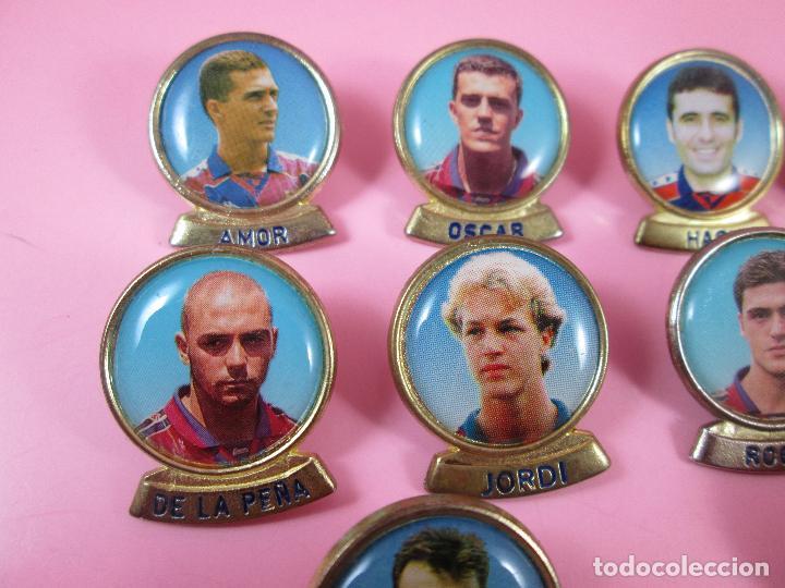 Coleccionismo deportivo: 21-lote 10 pins-f.c.barcelona-sports-lineva-NOS-ver fotos - Foto 7 - 87615528