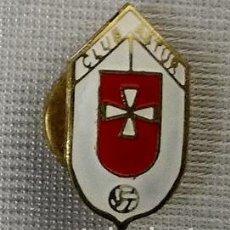 Coleccionismo deportivo: INSIGNIA OJAL CLUB ASTUR . ASTURIAS .. Lote 91840795