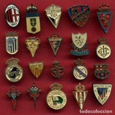 Coleccionismo deportivo: LOTE DE 88 PIN PINS DE FUTBOL , VER FOTOS , LEER DESCRIPCION , ORIGINALES. Lote 138946570