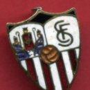 Coleccionismo deportivo: PIN FUTBOL , SEVILLA , GRANDE , REVERSO AGUJA , ESMALTE , ORIGINAL , P8. Lote 91846240
