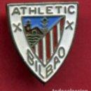 Coleccionismo deportivo: PIN FUTBOL , ATHLETIC DE BILBAO , REVERSO AGUJA , ORIGINAL , P9. Lote 91931995