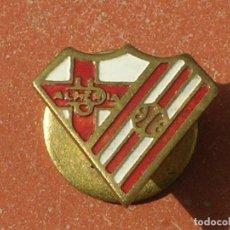 Coleccionismo deportivo: RARO PIN DE FUTBOL.ANTIGUA INSIGNIA DE OJAL.UNIÓN DEPORTIVA ALMERIA.AÑOS 50S.. Lote 93266040