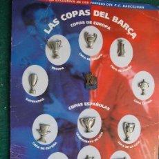 Coleccionismo deportivo: LAS COPAS DEL BARCA BARCELONA MUNDO DEPORTIVO. Lote 94100345