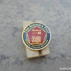 Coleccionismo deportivo: PIN DEL MUNDIAL DE FUTBOL DE 1994 EN WORLD USA LOS AÑOS 90 PIN OFICIAL. Lote 95013123