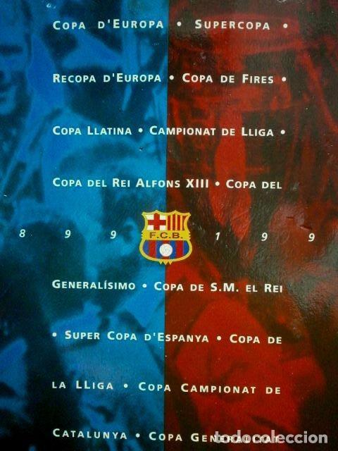 Coleccionismo deportivo: LES COPES DEL BARÇA (Las copas del Barça) Colección pins de los Trofeos del F.C. Barcelona 1899-1993 - Foto 7 - 98852823