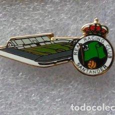 Coleccionismo deportivo: PIN ESMALTADO DEL ESTADIO ANTIGUO SARDINERO (REAL RACING CLUB DE SANTANDER).. Lote 99383959
