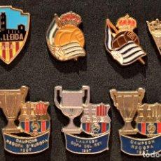 Coleccionismo deportivo: PIN LOTE 7 PINS FUTBOL. Lote 102412703